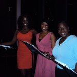 Leading ladies Zakiya Young, Soara-Joye Ross and Lacretta Nicole