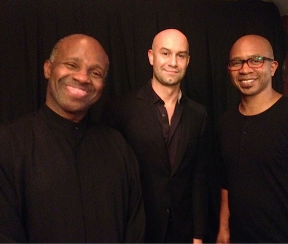 The Music Men. Bassist James Cammack, Arranger John Baxindine, Drummer Eric Brown